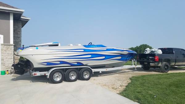 Photo 2006 Cobra Performance Boats Razor 260 Boat Openbow Wakeboard Baja - $55,000 (Gretna)