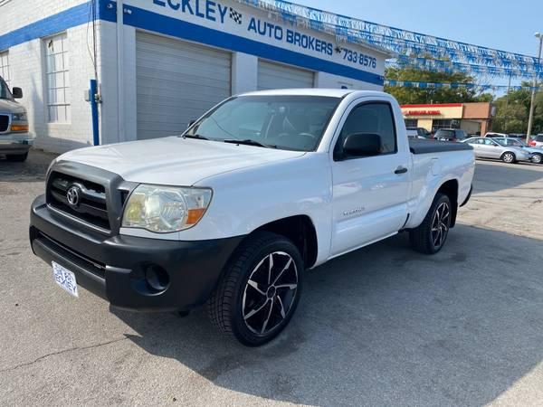 Photo 2008 TOYOTA TACOMA REGULAR CAB 2WD - CASH - $7,495 (Eckley Auto Brokers 42nd  D St)