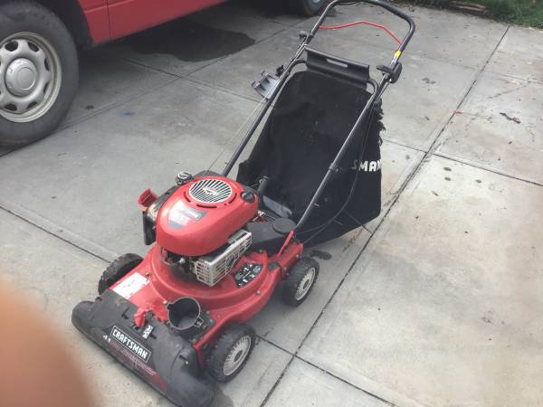 Photo 24 Craftsman yard vacuum - $50