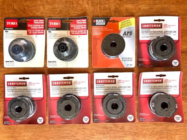 Photo 8 New Trimmer Line Replacement Spools Toro Craftsman Black  Decker - $30 (Omaha)