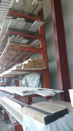 Photo CANTILEVER RACK USED (GREAT PRICE) SALE SEPT. 22-23 . (Omaha)