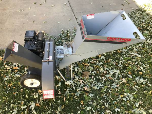 Photo Craftsman 5hp chipper shredder - $130 (West Omaha Elkhorn)