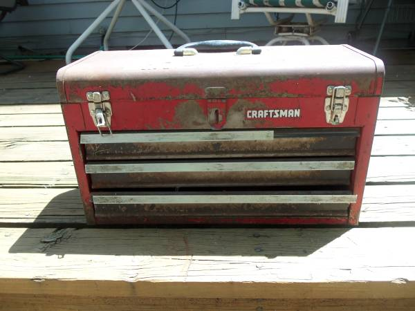 Photo Craftsman Tool Box 3 drawers - $10 (OMAHA)