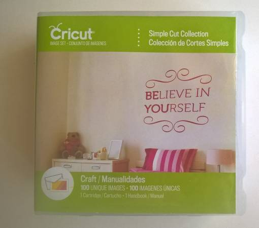 Photo Cricut cartridge 100 unique images Simple Cut Collection new sealed - $55 (108th and Maple)