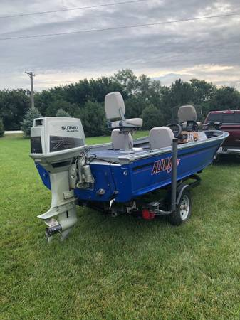 Photo Fishing boat for sale - $5,200 (Blair)
