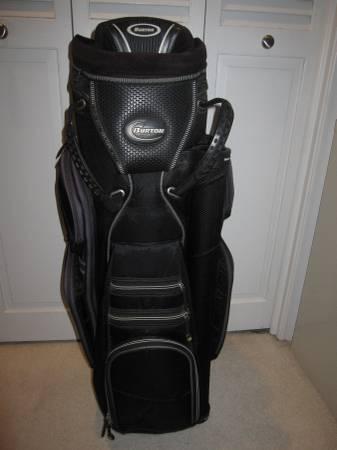 Photo Golf Bag-Burton Black Polar Zone Like New - $100 (OMAHA)