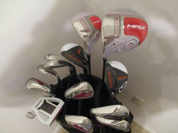 Photo Golf Clubs and Bag Brand New LH Ladies Cobra Bio Cell set - $380 (Gretna, NE)
