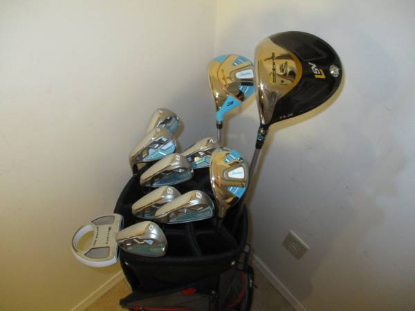 Photo Golf Clubs and Bag Brand New LH Ladies Cobra Bio Cell Set - $360 (Gretna, NE)