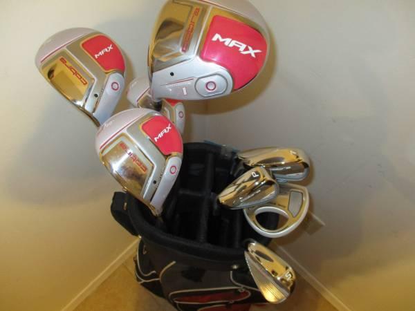 Photo Golf Clubs and Bag Brand New LH Ladies Cobra Max Tecflo Set - $350 (Gretna, NE)
