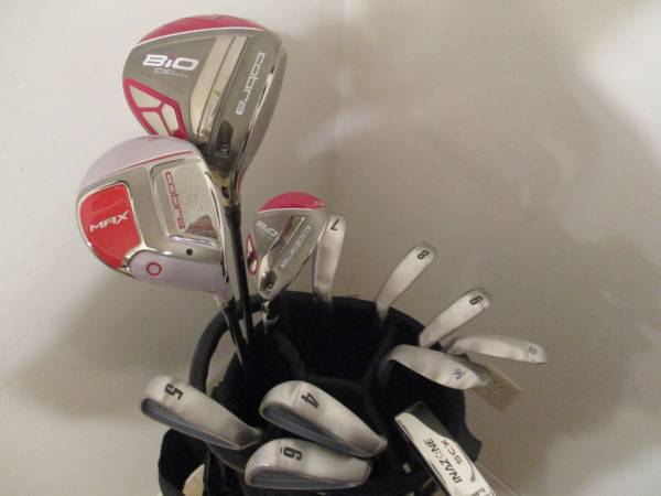 Photo Golf Clubs and Bag Excellent RH Ladies Cobra 3100 IH Set - $300 (Gretna, NE)