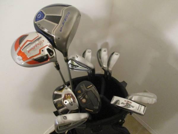 Photo Golf Clubs and Bag Excellent RH Lady King Cobra FP Set - $300 (Gretna, NE)