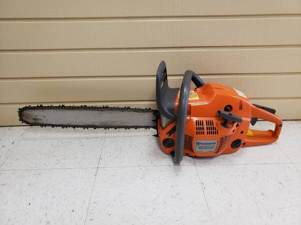 Photo Husqvarna 455 Rancher 20quot Gas Chainsaw - $350 (West Omaha)