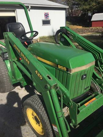 Photo JOHN DEERE 955 (EAGLE , NE)