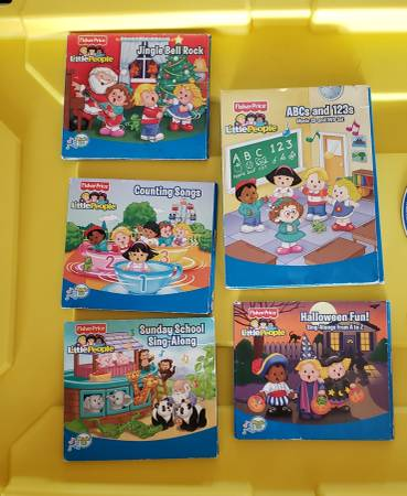 Photo Little People Music CDs for toddlers (Millard)