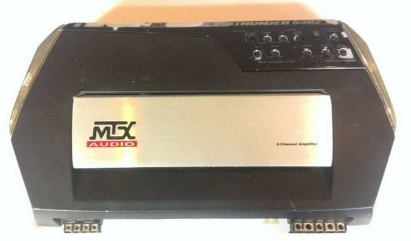 Photo MTX Audio Old School 300 Watt Two Channel Car Amplifier Thunder TA5302 - $80 (LA VISTA)