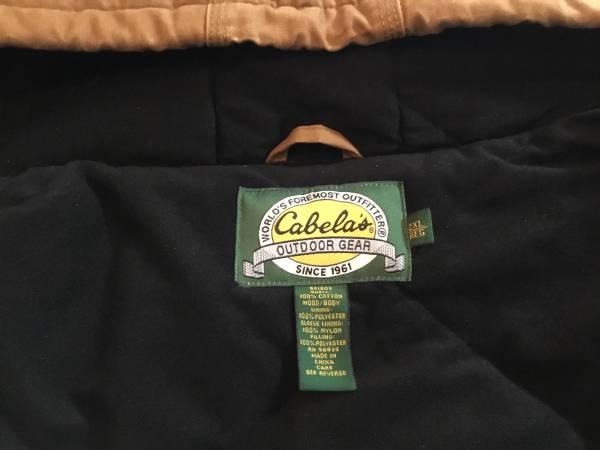 Photo Mens Cabelas coat size 2xl - $25 (LaVistaPapillion)