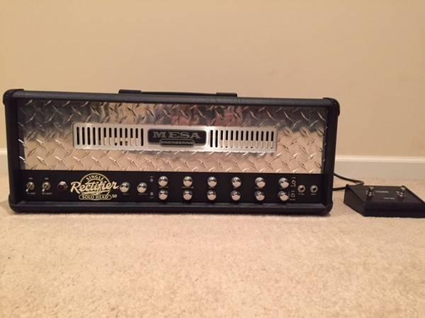 Photo Mesa Boogie Single Rectifier - $750 (Omaha)