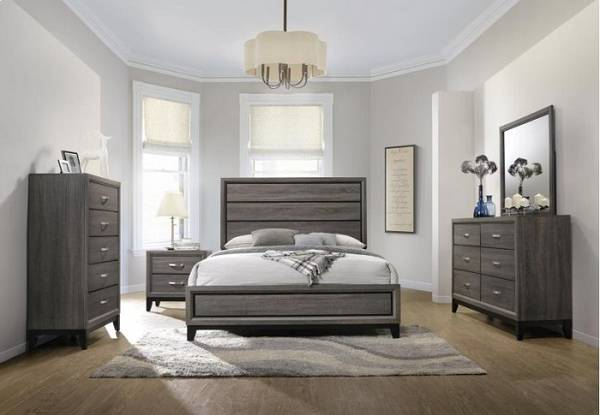 Photo New 5-piece queen bedroom set - $899 (Millard)