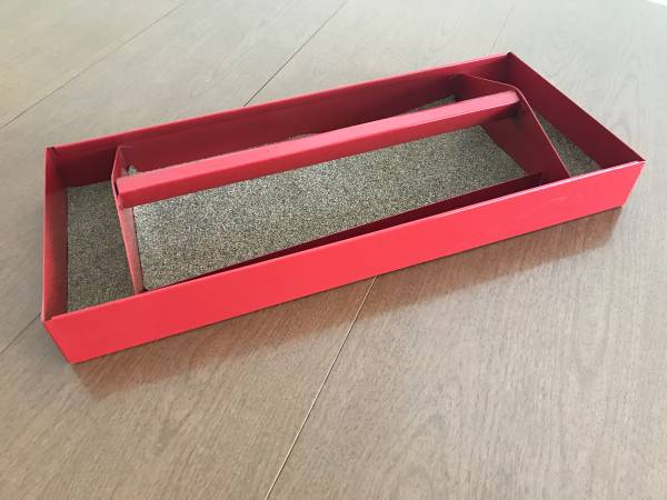 Photo Proto Red Top Chest Tray for Tool Box Heavy Duty with Handle - $22 (Omaha)