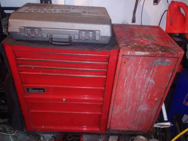 Photo SNAP ON TOOLBOX FULL OF TOOLS AND A MATCO SIDE CABINET - $1,650 (Omaha)