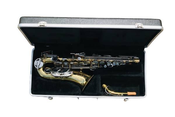 Photo Selmer Alto Saxophone Bundy 2 plays well very well built - $350 (Papillion)