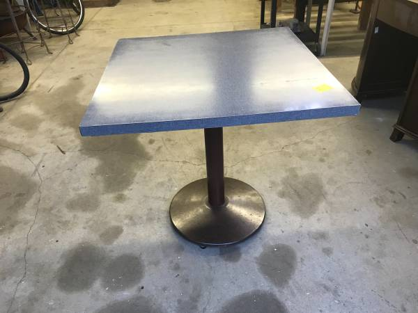 Photo Square Cast Iron Table - $75 (West Omaha)