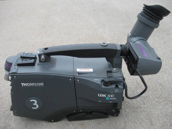 Photo Thomson LDK300 SD Digital LDK5400 Grass Valley Philips Studio Camera - $400