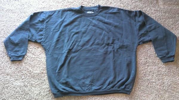 Photo Time Out LOT OF 11 100 Cotton Oversized Crewneck Sweatshirt Dark Blue - $60 (LA VISTA)