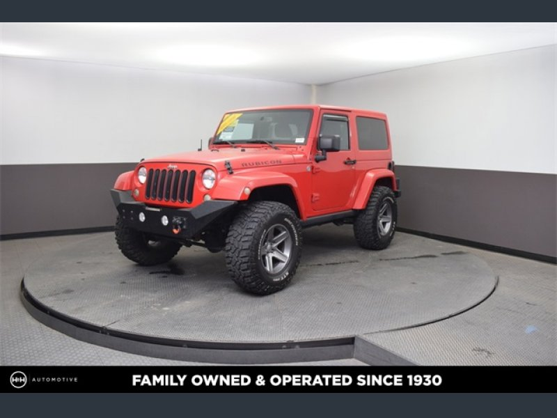 Photo Used 2013 Jeep Wrangler 4WD Rubicon w Dual Top Group for sale