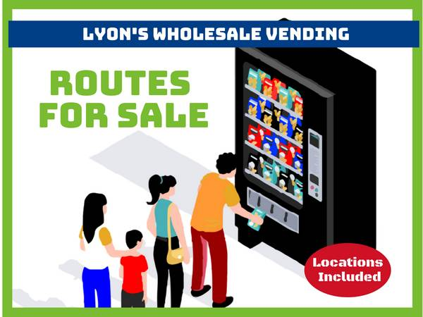 Photo Vending Route - Make $80k A Year - Part Time - Start w$1K