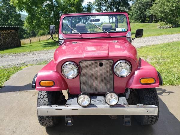 Photo 1983 Jeep CJ7 - $6,250 (Maryland, NY)
