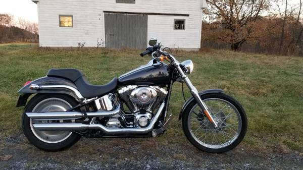 Photo 2002 Harley-Davidson Softail Deuce FXSTDI - $7,000 (Schenectady NY)