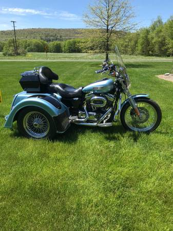 Photo 2007 XL Sportster Trike - $8,995 (Maryland)