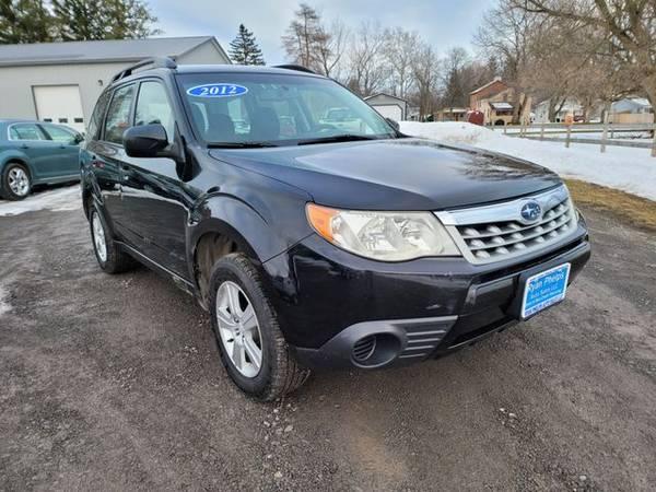 Photo 2012 Subaru Forester - Good and Bad credit, reputable dealer 3 locatio - $9995.00 (Jordan, ny)