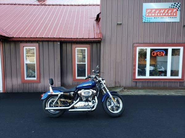 Photo 2015 Harley Davidson XL1200C Sportster 1200 Custom - $7,499 (Corinth, NY)
