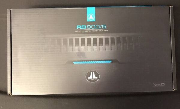 Photo BRAND NEW JL Audio RD9005 5-channel lifier - $500 (Fort Plain, NY)