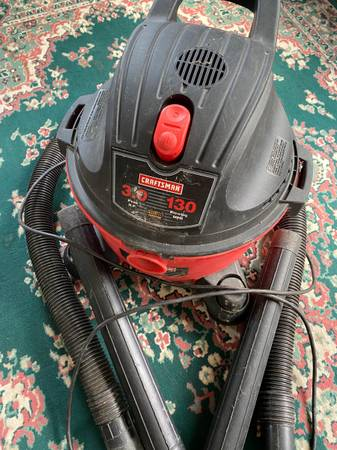 Photo Craftsman 8 Gallon Shop Vacuum For Sale - $20 (Cooperstown)