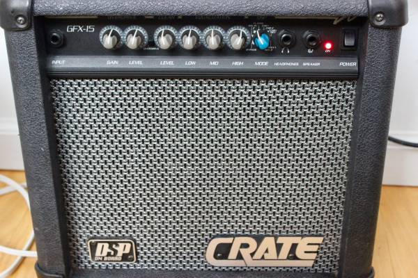 Photo Crate GFX-15 Guitar Amp - $80 (Cooperstown NY)