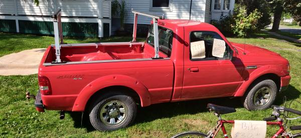 Photo Ford ranger with tow package - $4,000 (walton NY)