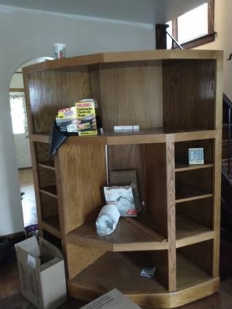 Photo Free Corner TV stand  Bookshelf (Schenectady)