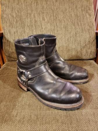 Photo Harley Davidson Boots (mens) - $45 (Colonie)