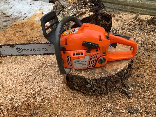 Photo Husqvarna 350 chainsaw 18 - $200 (Cropseyville)