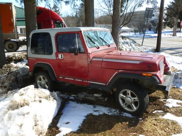 Photo Jeep Wrangler 1988 - $3895 (West Burlington, NY)