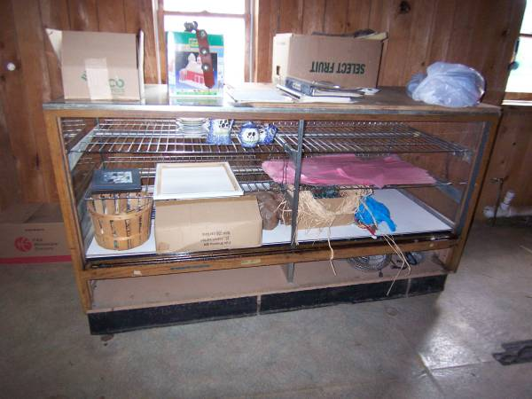 Photo Lighted Glass Display Case - $180 (Oneonta)