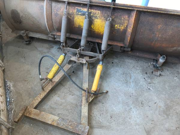 Photo Meyers 7.5 foot snow plow ST-90  TRADE FOR Firewood or Other  (WALTON)