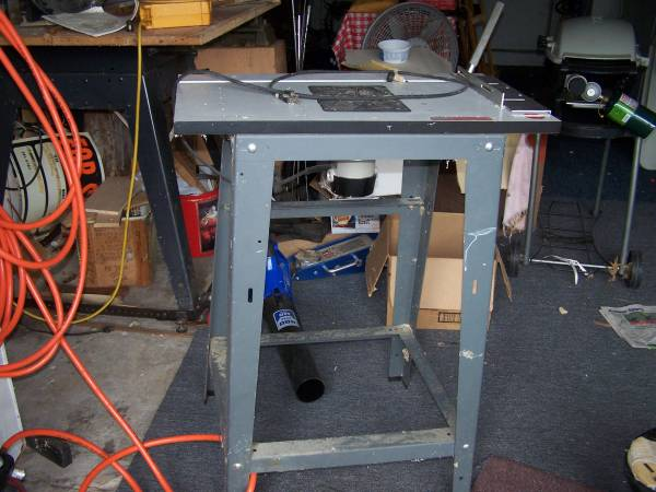 Photo Porter Cable Router, with Shop Smith Table - $75 (Rome)