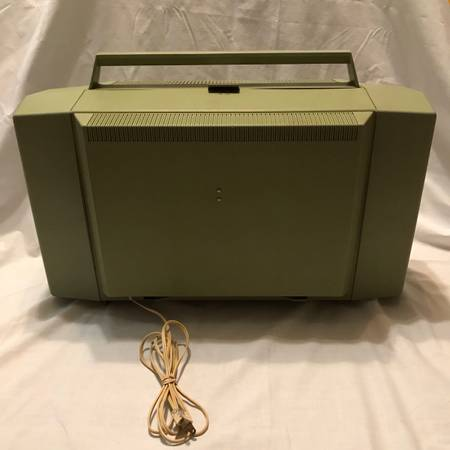 Photo Sears Roebuck And Co Silvertone Solid State Stereo 3262 Portable Record Player - $50 (Guilderland)