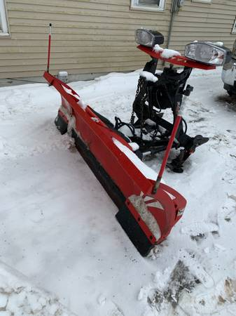 Photo Snow Plow Western Wide Wide-Out - $4,500 (Oneonta)