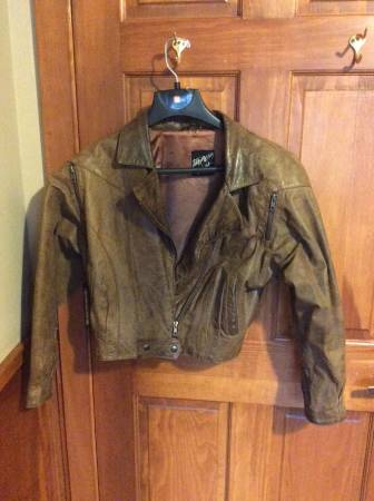 Photo Tannery West Womens Leather Jacket M - $75 (Bernhards Bay)