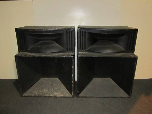 Photo Vintage Peavy SP-3 100 watt speakers (2 total, sold as a set) - $350 (GREEN ISLAND)